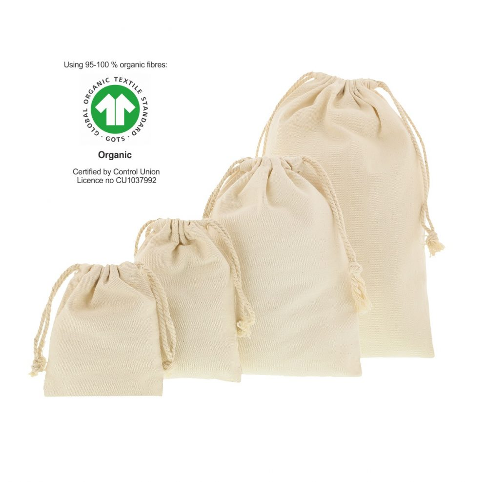 Ecological cotton bags
