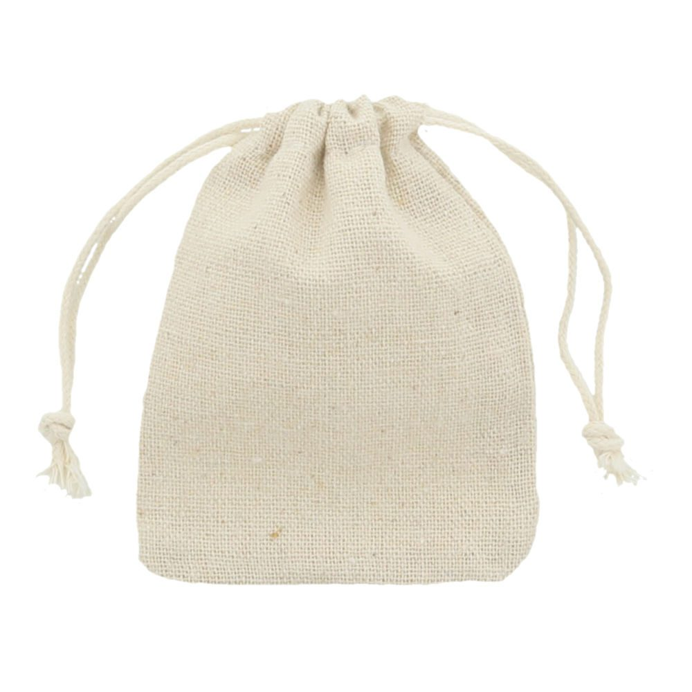 Linen-Cotton bag 7,5x10cm 2.0