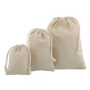 Linen-cotton bags various sizes