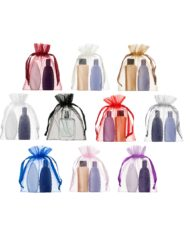 medium organza bags 15x20cm in various colours