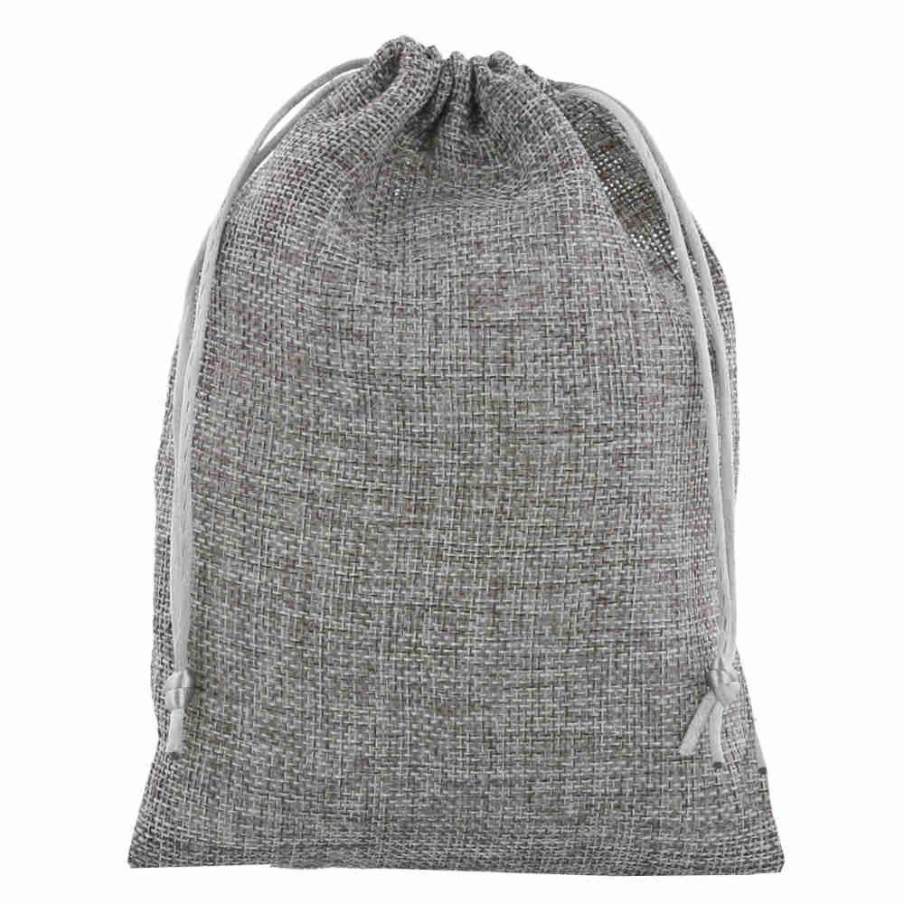 mini jute bag 15x20m anthracite 2.0