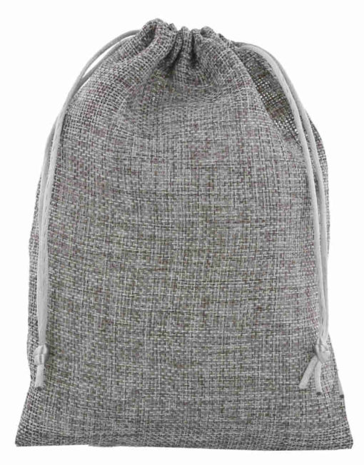 mini jute bag 15x20m anthracite 2.0