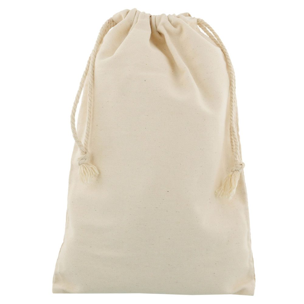 small cotton drawstring bag 20x30cm