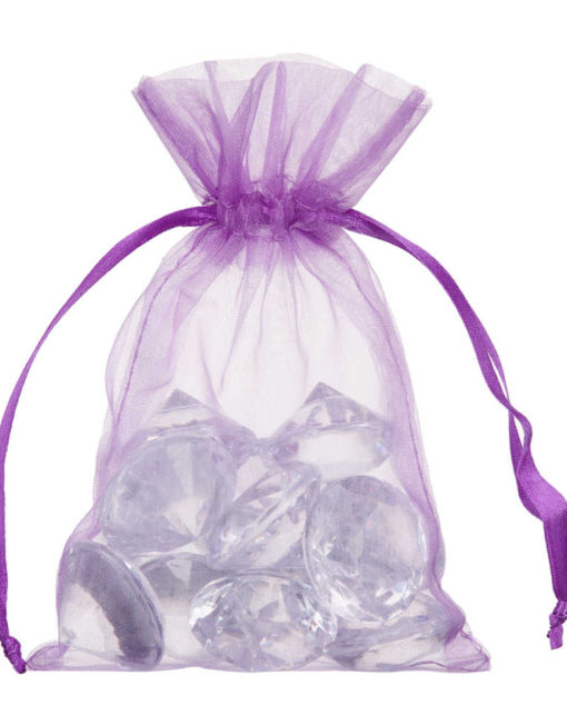 small organa bag 10x15cm purple