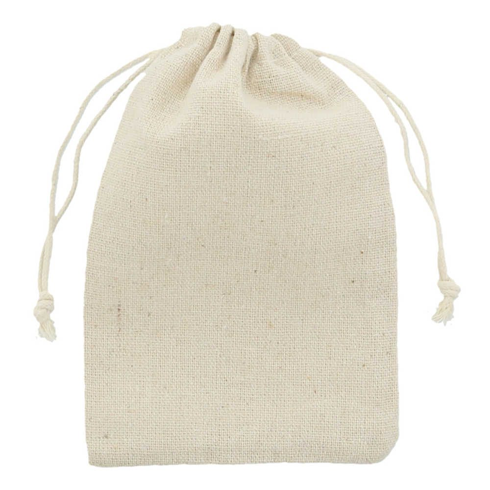 Linen-Cotton bag 10x15cm 2.0