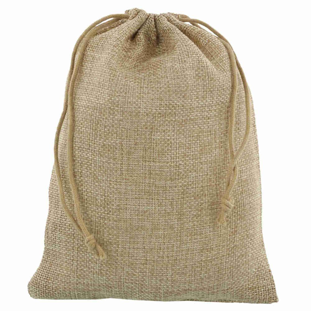 mini jute bag 15x20cm natural 2.0