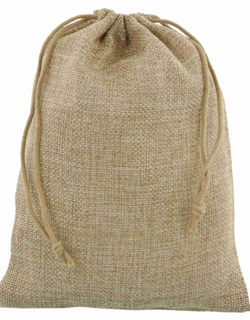 mini jute bag 15x20cm natural 2.0