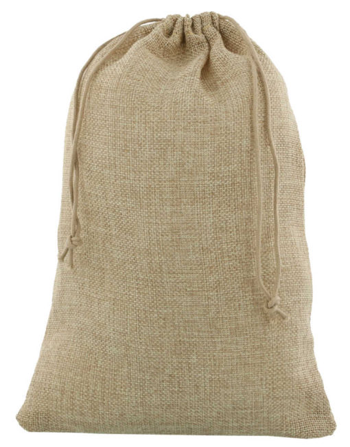 mini jute bag 20x30cm natural 2.0