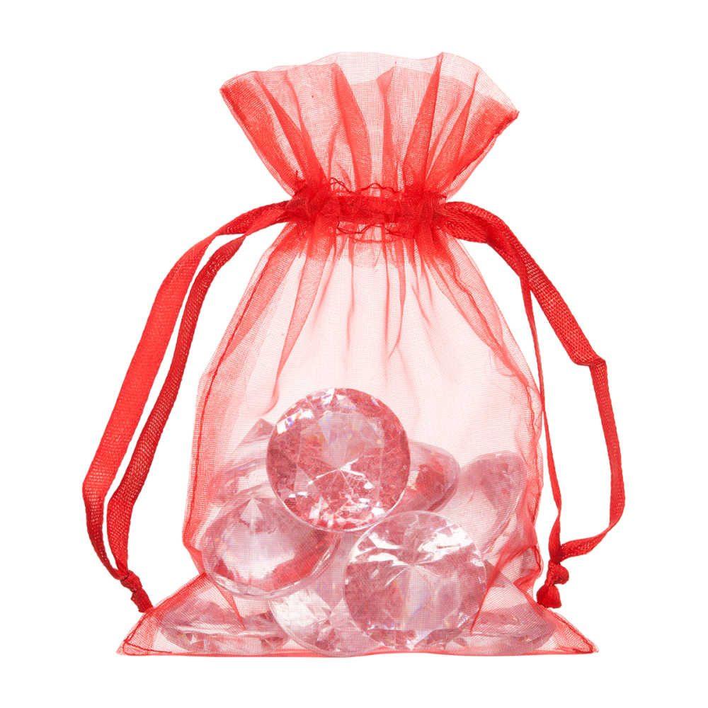 small organza bag 10x15cm red 2.0