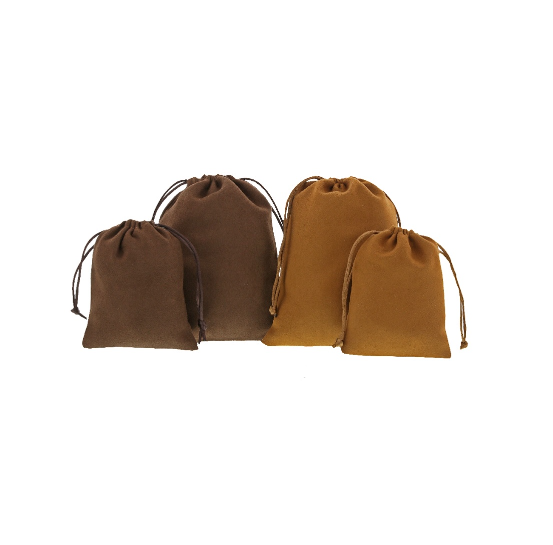 Suede pouches 2