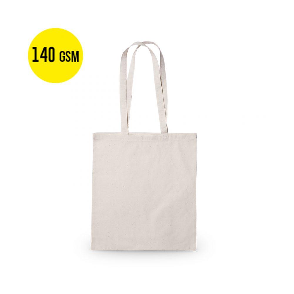 50 pieces Cotton Carrier Bag 140 grams Quality, Size 37x41cm