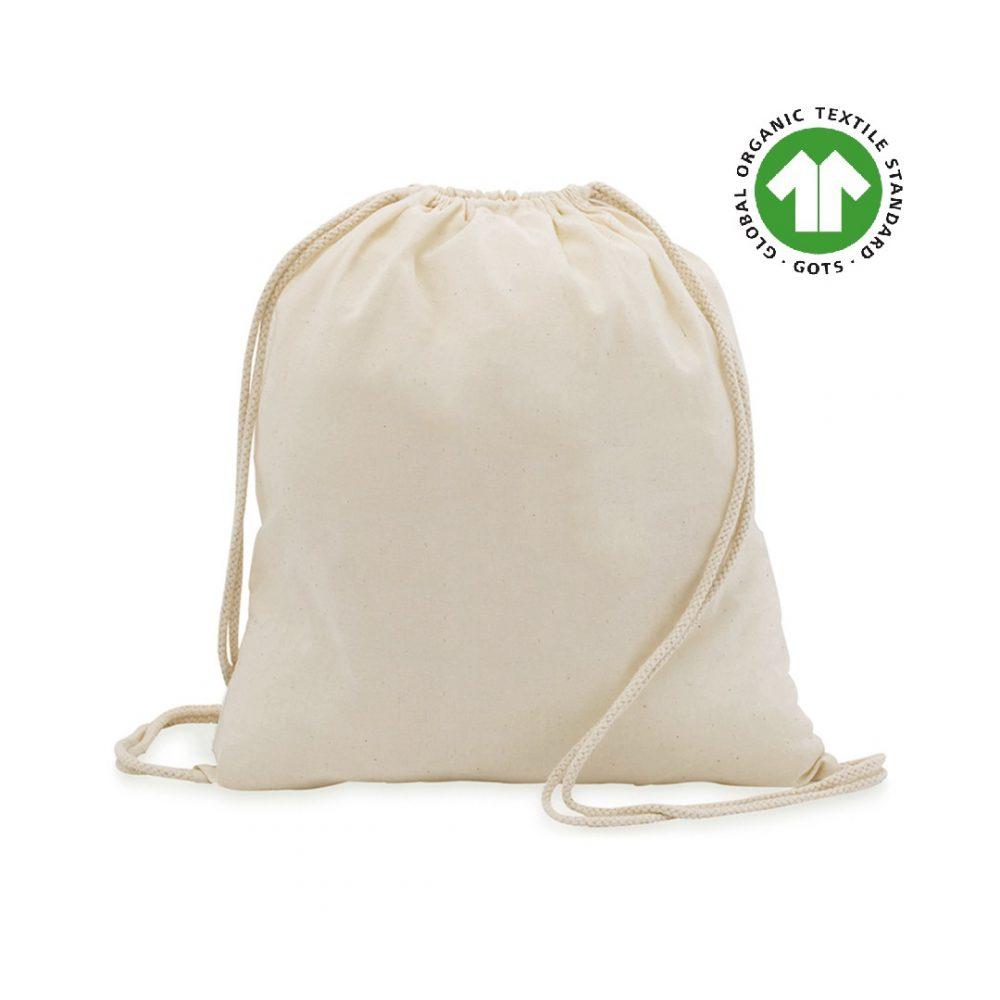 50 pieces Cotton Ecological Backpacks 37x41cm 100% Cotton