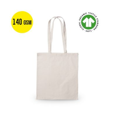 50 pieces Cotton Ecological Carrier Bag 140 grams Quality, Size 37x41cm