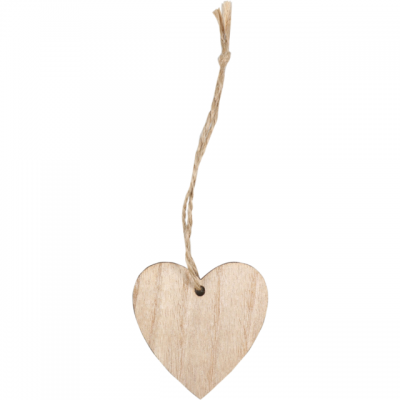 Pendant Wooden Heart