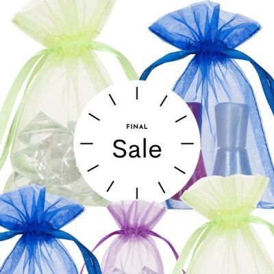 Organza bags 10x15cm SALE