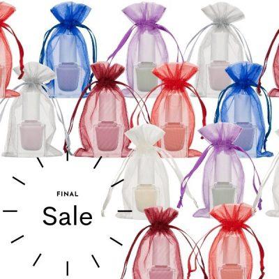 Small organza bags 7x12cm SALE