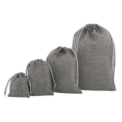 Jute Look Bags (PE) Anthracite Various Sizes